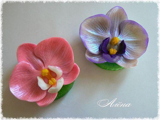 """Мыло ручной работы. Ярмарка Мастеров - ручная работа. Купить мыло""""орхидея"""". Handmade. Сувенирное мыло, средства для лица"""