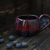 Посуда ручной работы. Ярмарка Мастеров - ручная работа Про черничный сок. Handmade.