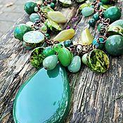 Украшения handmade. Livemaster - original item Necklace, bracelet and earrings ART. 30583.. Handmade.