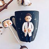 Кружки ручной работы. Ярмарка Мастеров - ручная работа Лучший Подарок пластическому хирургу ручной работы Кружка для врача. Handmade.