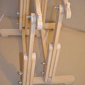 Инструменты для вышивки ручной работы. Ярмарка Мастеров - ручная работа Подставка напольная под раму 60х90. Handmade.