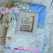 Канцелярские товары ручной работы. Ярмарка Мастеров - ручная работа Дневник мамы для девочки. Handmade.