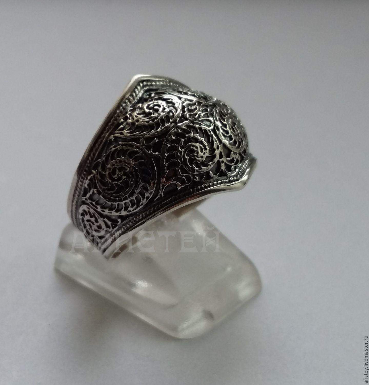 "Кольцо ""Узоры"", Rings, Moscow,  Фото №1"