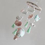 """Для дома и интерьера ручной работы. Ярмарка Мастеров - ручная работа Мобиль """"Mint dream"""". Handmade."""