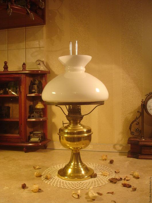 Винтажные предметы интерьера. Ярмарка Мастеров - ручная работа. Купить Старинная керосиновая лампа - 2!!!. Handmade. Старинная лампа