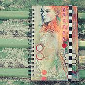 Канцелярские товары ручной работы. Ярмарка Мастеров - ручная работа Альбом+Блокнот. Handmade.