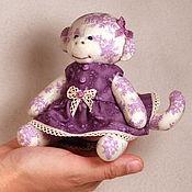 Куклы и игрушки ручной работы. Ярмарка Мастеров - ручная работа Обезьянка малышка. Handmade.