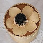 Подарки к праздникам handmade. Livemaster - original item box of birch bark. Handmade.