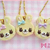 """Украшения ручной работы. Ярмарка Мастеров - ручная работа Колье """"Sweet Cookie Bunny"""". Handmade."""