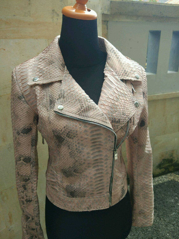Верхняя одежда ручной работы. Ярмарка Мастеров - ручная работа. Купить Куртка из кожи питона. Handmade. Куртка, куртка из питона