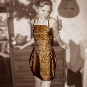"""Одежда ручной работы. Ярмарка Мастеров - ручная работа Платье """"Озорное золото"""". Handmade."""
