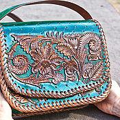 Сумки и аксессуары handmade. Livemaster - original item Bag women`s leather