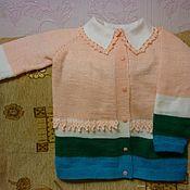 Одежда ручной работы. Ярмарка Мастеров - ручная работа Кофта для девочки. Handmade.