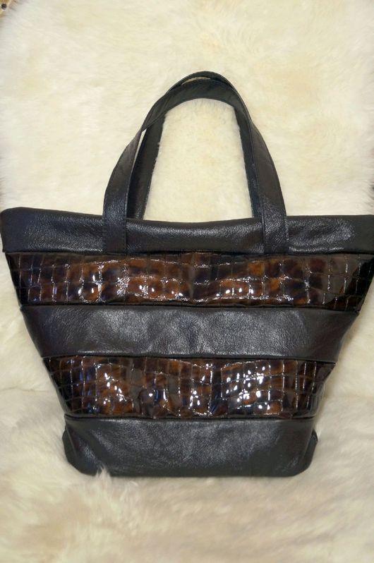 Женские сумки ручной работы. Ярмарка Мастеров - ручная работа. Купить Кожаная сумка мягкой формы. Handmade. Кожаная сумка