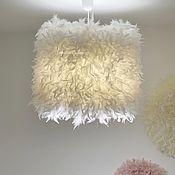 Для дома и интерьера handmade. Livemaster - original item Lamp with feathers ju-ju light. Handmade.
