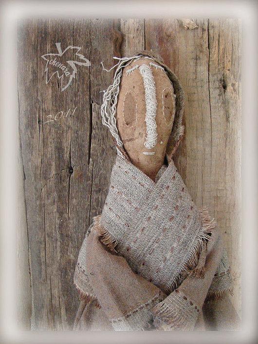 Куклы и игрушки ручной работы. Ярмарка Мастеров - ручная работа. Купить Ангел. Handmade. Примитивная кукла, ангелы, холст