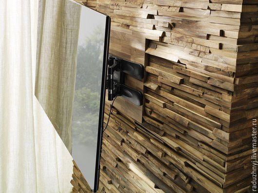 Декор поверхностей ручной работы. Ярмарка Мастеров - ручная работа. Купить Деревянный декор для стен. Handmade. Деревянный стиль, сосна