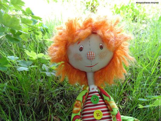 Коллекционные куклы ручной работы. Ярмарка Мастеров - ручная работа. Купить Кукла садовница Перчинни. Handmade. Рыжий, садовница