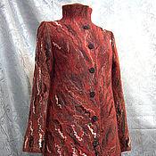 """Одежда ручной работы. Ярмарка Мастеров - ручная работа Пальто """" Лёд и пламя """". Handmade."""