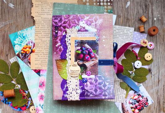 """Блокноты ручной работы. Ярмарка Мастеров - ручная работа. Купить Блокнот """"Berries"""". Handmade. Блокнот ручной работы, кулинарный блокнот"""