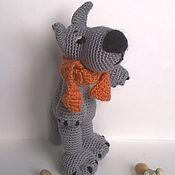 """Куклы и игрушки ручной работы. Ярмарка Мастеров - ручная работа """"Серый волк"""". Handmade."""