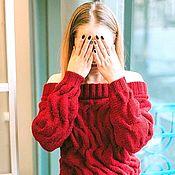 Одежда handmade. Livemaster - original item Women`s Marsal WAVE sweater. Handmade.