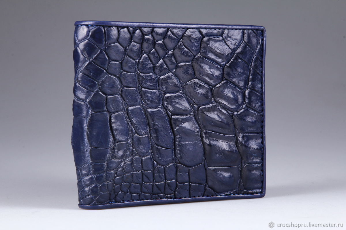 Crocodile leather wallet IMA0022VC55, Wallets, Moscow,  Фото №1