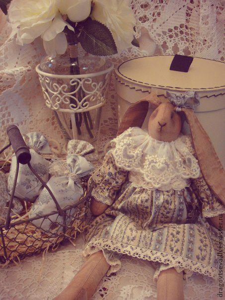 """Ароматизированные куклы ручной работы. Ярмарка Мастеров - ручная работа. Купить Зайка """"Полынька"""". Handmade. Зайка, интерьерная игрушка"""