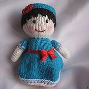 """Куклы и игрушки ручной работы. Ярмарка Мастеров - ручная работа Вязаная кукла """"Мила"""". Handmade."""