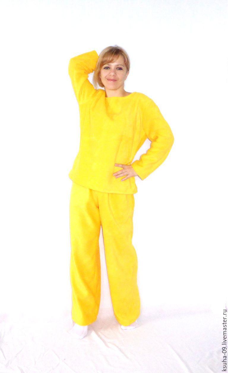 Pajamas warm fleece Sun, Pyjamas, Tikhoretsk,  Фото №1