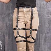 Аксессуары handmade. Livemaster - original item The belt on the legs / artery Oggi. Handmade.