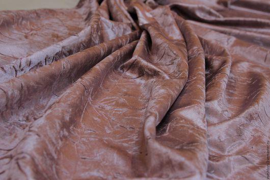 Шитье ручной работы. Ярмарка Мастеров - ручная работа. Купить Бархат сиреневый для штор, портьерная ткань. Handmade. Сиреневый
