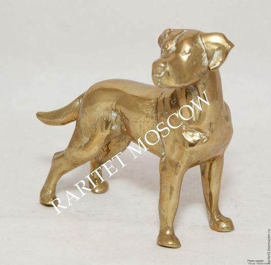 Винтажные предметы интерьера. Ярмарка Мастеров - ручная работа. Купить Собака охота камин бронза латунь Германия 1. Handmade.