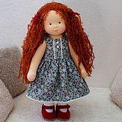 Куклы и игрушки ручной работы. Ярмарка Мастеров - ручная работа Вероничка, 33 см. Handmade.