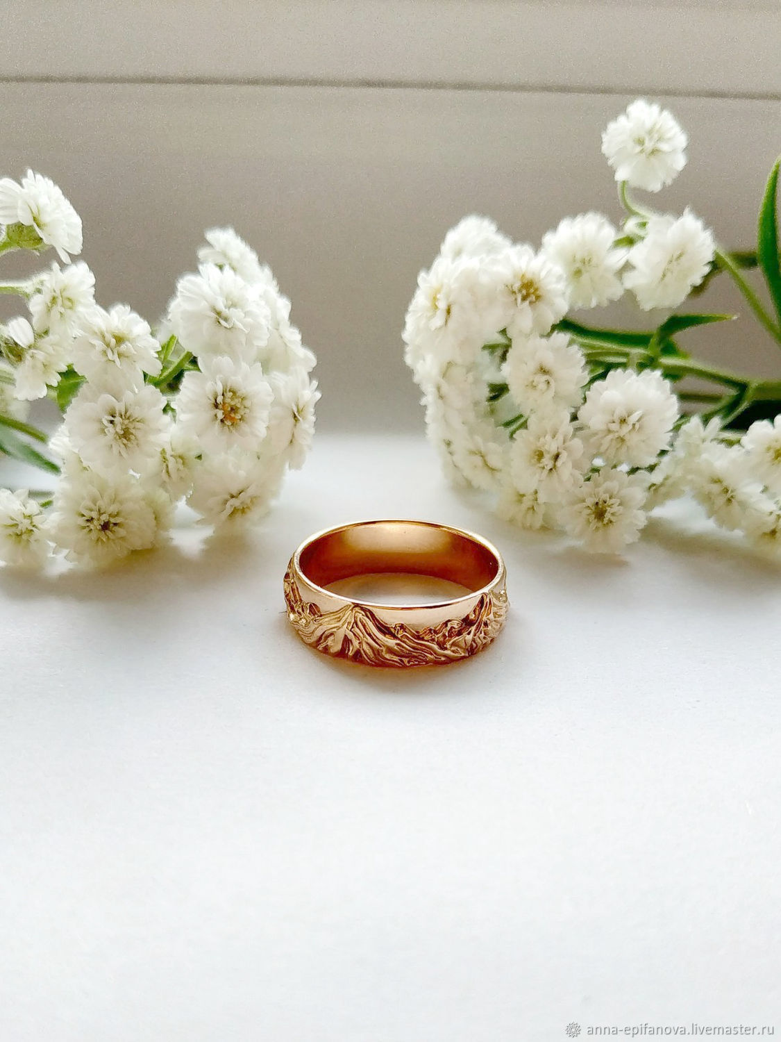 Mountain ring №1 in 585 gold (Ob11), Engagement rings, Chelyabinsk,  Фото №1
