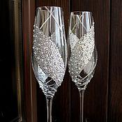 """Свадебный салон ручной работы. Ярмарка Мастеров - ручная работа Свадебные бокалы """"Тюльпан"""". Handmade."""