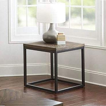 Мебель ручной работы. Ярмарка Мастеров - ручная работа Журнальный стол малый в стиле ЛОФТ. Handmade.