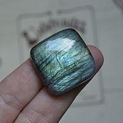Материалы для творчества handmade. Livemaster - original item Labradorite. Cabochon 29 X 28 X 9. Handmade.