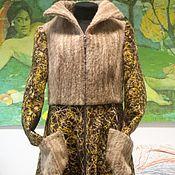 Одежда ручной работы. Ярмарка Мастеров - ручная работа Яга пальто ручной работы «New Age». Handmade.