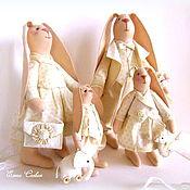Куклы и игрушки ручной работы. Ярмарка Мастеров - ручная работа Семья зайцев. Handmade.