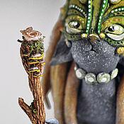 Куклы и игрушки handmade. Livemaster - original item Forest priestess Locate tribe Ula-Tonga. Repeat. Handmade.