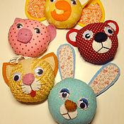 Куклы и игрушки ручной работы. Ярмарка Мастеров - ручная работа Магнитики для самых маленьких (набор). Handmade.