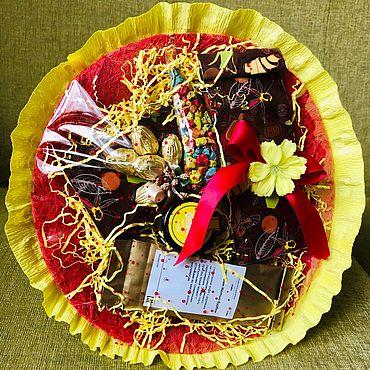 Цветы и флористика ручной работы. Ярмарка Мастеров - ручная работа Букет «Яркий праздник». Handmade.