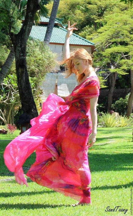 """Платья ручной работы. Ярмарка Мастеров - ручная работа. Купить Платье """"Внутренний рай"""" из Коллекции """"Семь цветов любви"""". Handmade."""