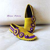 Обувь ручной работы handmade. Livemaster - original item women`s loafers. Handmade.