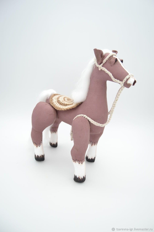 Лошадка, Вальдорфские куклы и звери, Павловск,  Фото №1