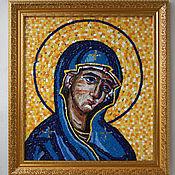 handmade. Livemaster - original item Mosaic. The mother of God based on Greek mosaic from Crete. Handmade.