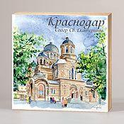 Сувениры и подарки handmade. Livemaster - original item Souvenir magnets Krasnodar. Handmade.