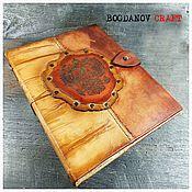 Канцелярские товары handmade. Livemaster - original item notebooks: Leather notebook