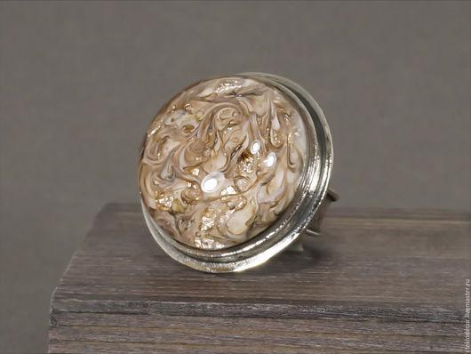 """Кольца ручной работы. Ярмарка Мастеров - ручная работа. Купить Кольцо лэмпворк """"Тайна мира"""". Handmade. Кольцо лэмпворк, нейзильбер"""
